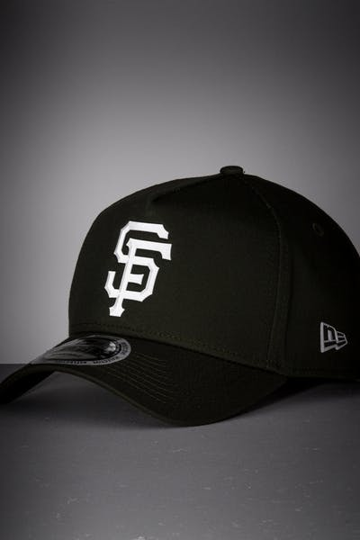 7e20a33b New Era San Francisco Giants 9FORTY A-Frame Reflective Logo Snapback  Olive/3M ...