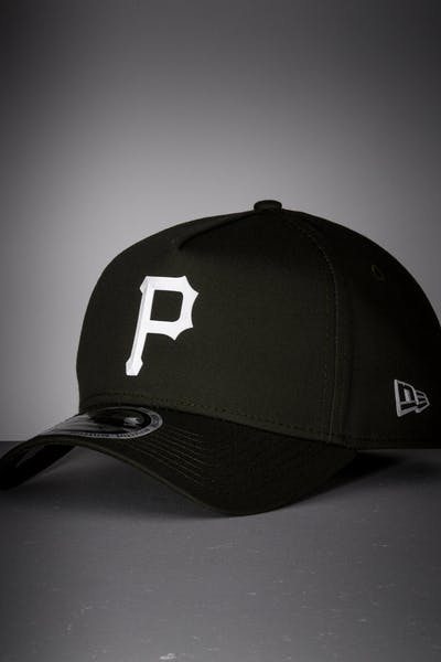 New Era Pittsburgh Pirates 9FORTY A-Frame Reflective Logo Snapback Olive/3M