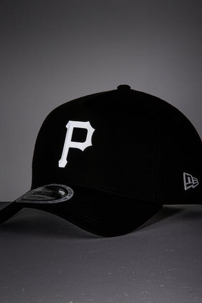 New Era Pittsburgh Pirates 9FORTY A-Frame Reflective Logo Snapback Black/3M