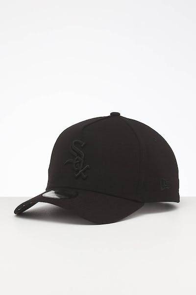 New Era Chicago White Sox 9FORTY A-Frame Snapback Black/Navy Stripe