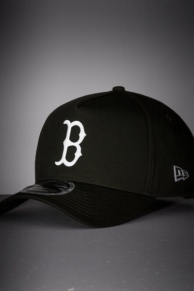 New Era Boston Red Sox 9FORTY A-Frame Reflective Logo Snapback Olive/3M