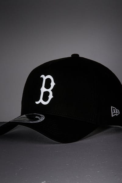New Era Boston Red Sox 9FORTY A-Frame Reflective Logo Snapback Black/3M