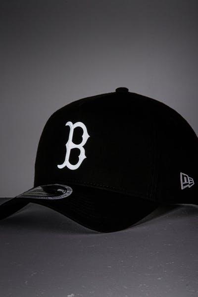 0ff81a80067 New Era Boston Red Sox 9FORTY A-Frame Reflective Logo Snapback Black/3M ...