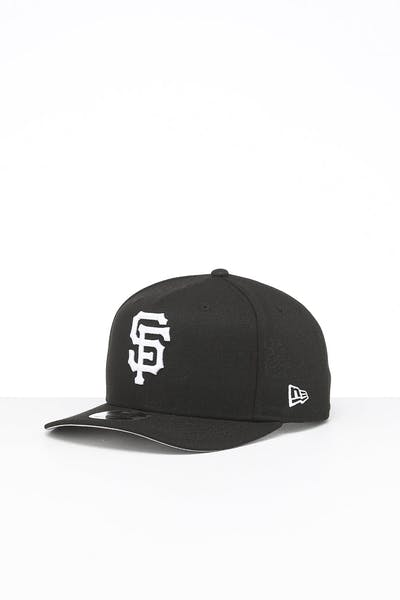 New Era San Francisco Giants 9FIFTY High Crown Precurved Snapback Black