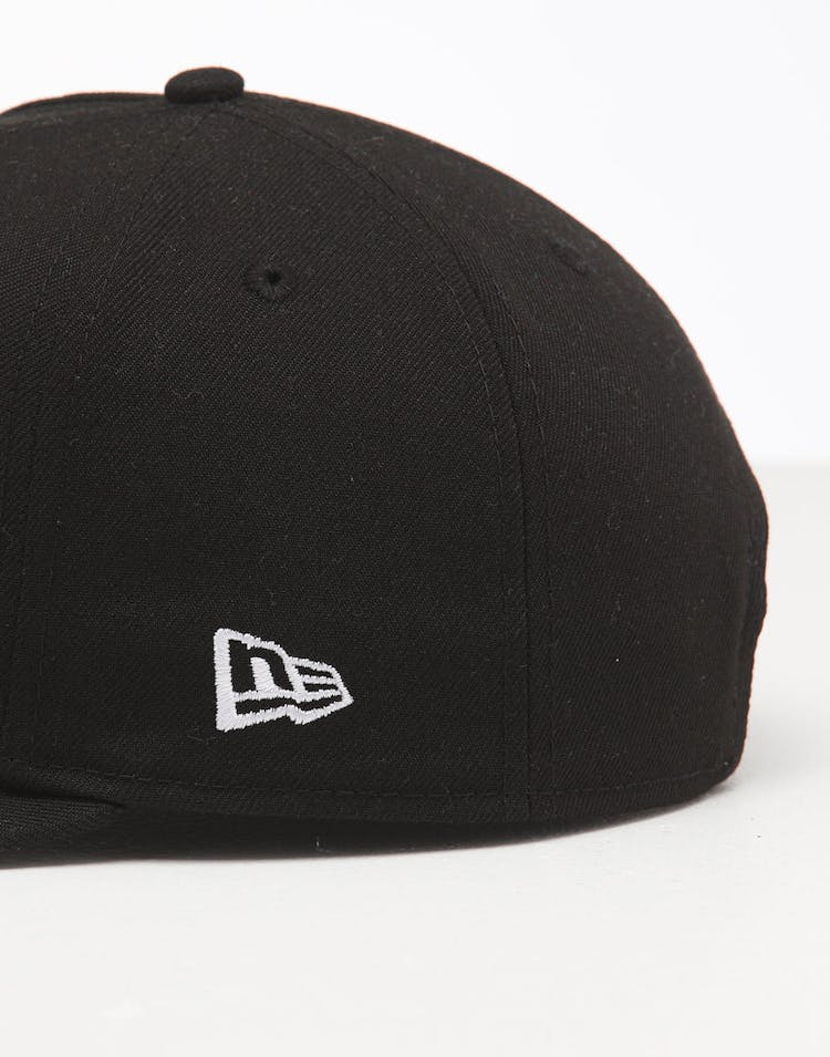 New Era Los Angeles Lakers 9FIFTY High Crown Precurved Snapback Black