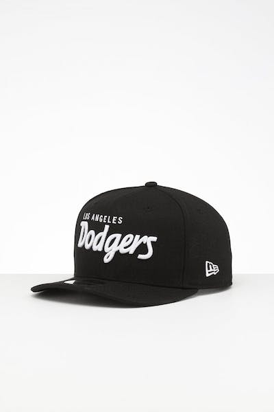 New Era Los Angeles Dodgers 9FIFTY Retro High Crown Precurved Snapback Black Script