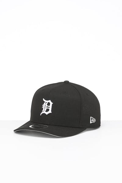 New Era Detroit Tigers 9FIFTY High Crown Precurved Snapback Black