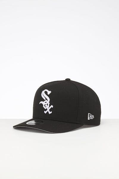 New Era Chicago White Sox 9FIFTY High Crown Precurved Snapback Black
