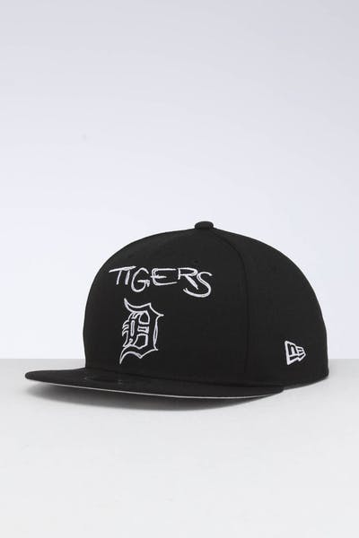 New Era Detroit Tigers 9FIFTY OF Scribble Snapback Black