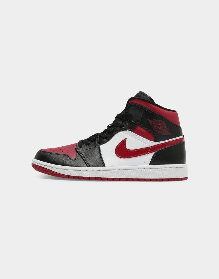 nueva alta calidad profesional la compra auténtico Jordan Air Jordan 1 Mid Black/Red/White | Culture Kings