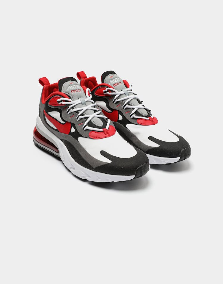arrives exclusive range authentic quality Nike Air Max 270 React Black/Red/White   Culture Kings