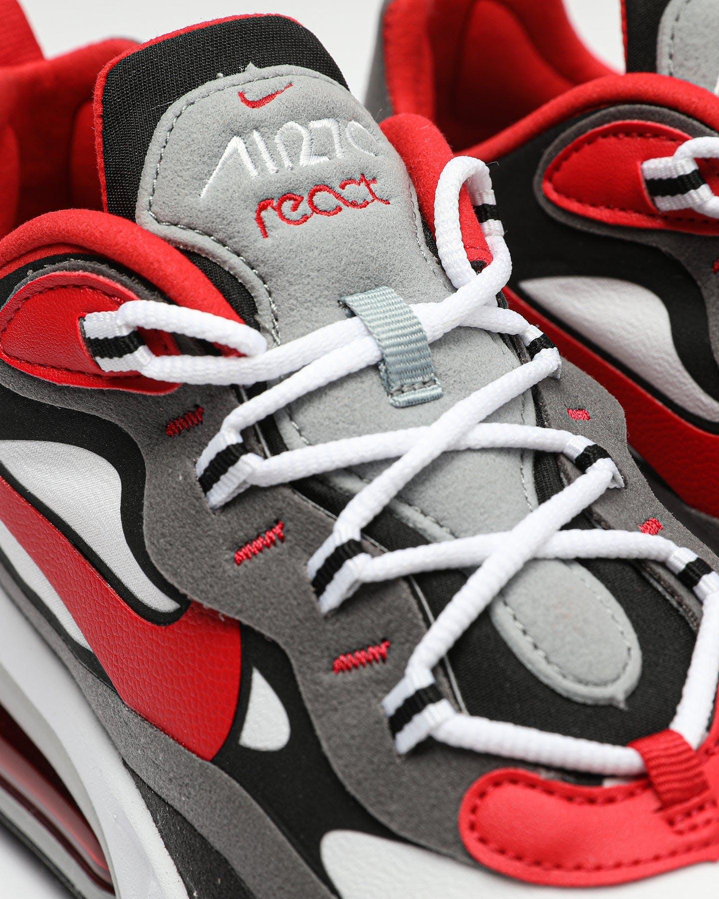 Nike Air Max 270 React Black Red White Culture Kings