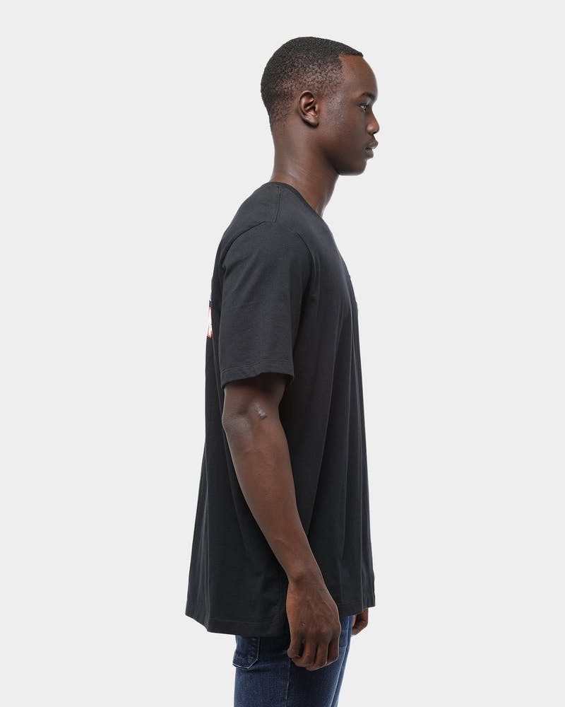 Jordan Men's Jordan Brand Sticker Short Sleeve T-Shirt Black