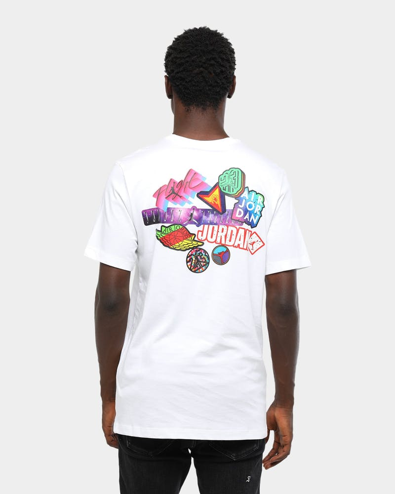 Brand Sticker Short Sleeve T-Shirt
