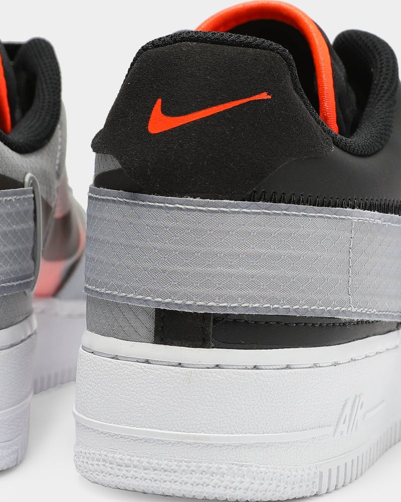 Nike Air Force 1 Type Black/Crimson/Grey