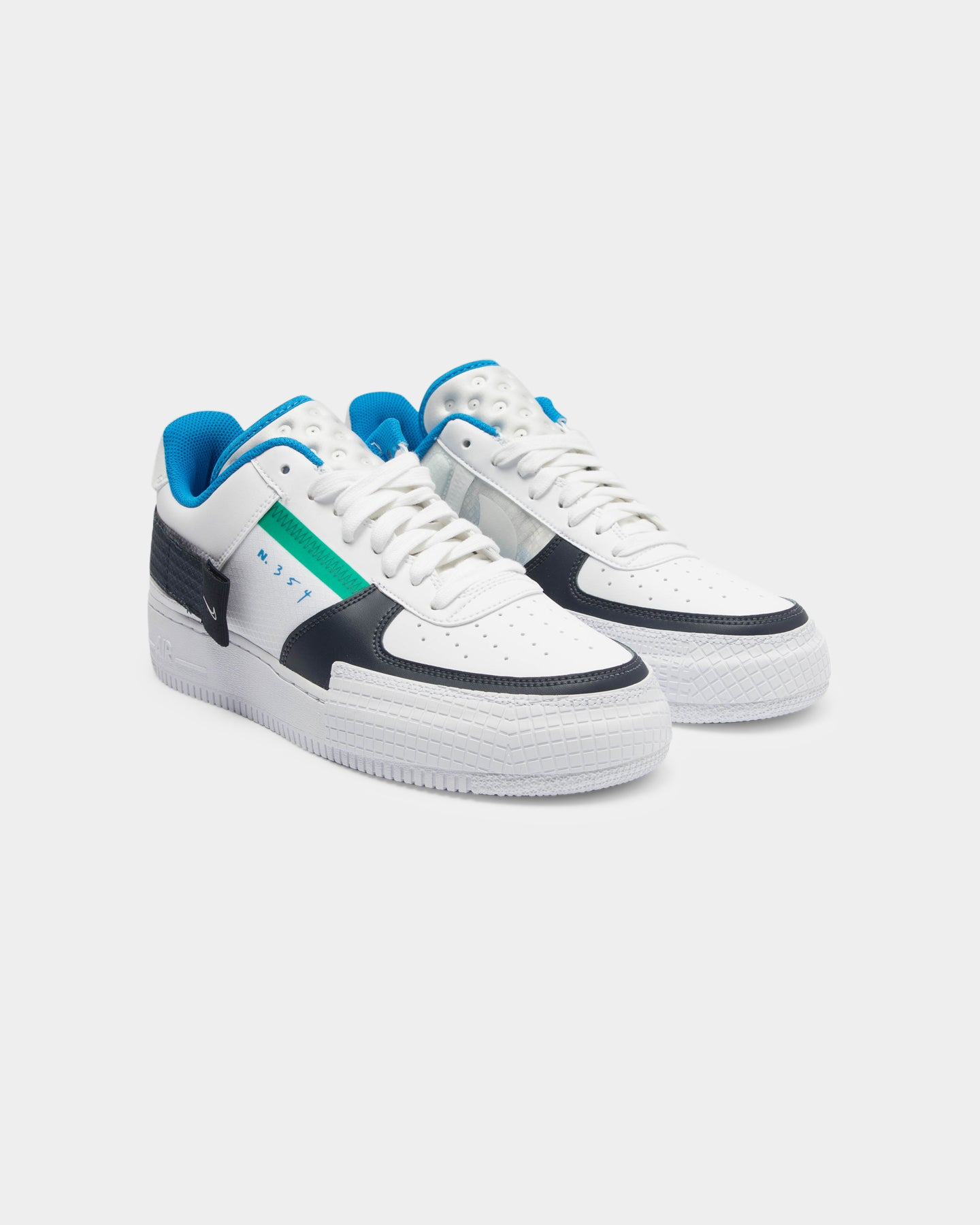 Nike Air Force 1 in ObsidianWhiteObsidian Style Code