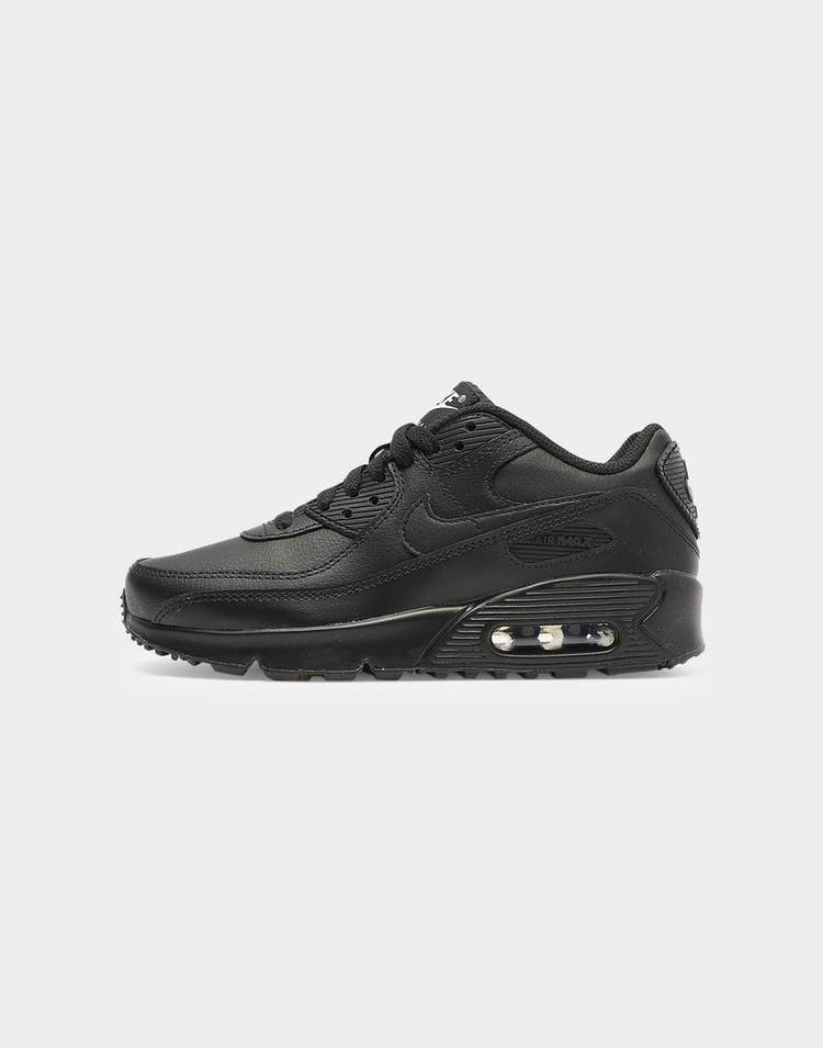 Nike Kids Air Max 90 LTR (GS) Black/Black/White