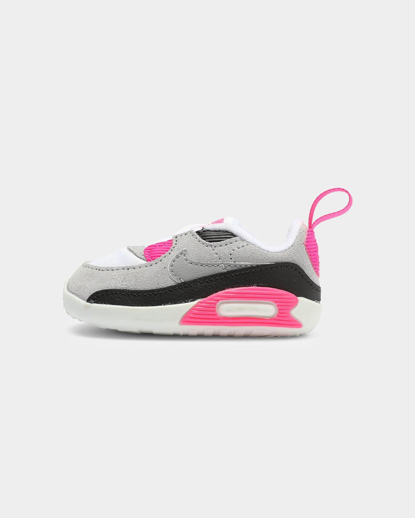 Nike Max 90 Crib Bootie WhiteGrey