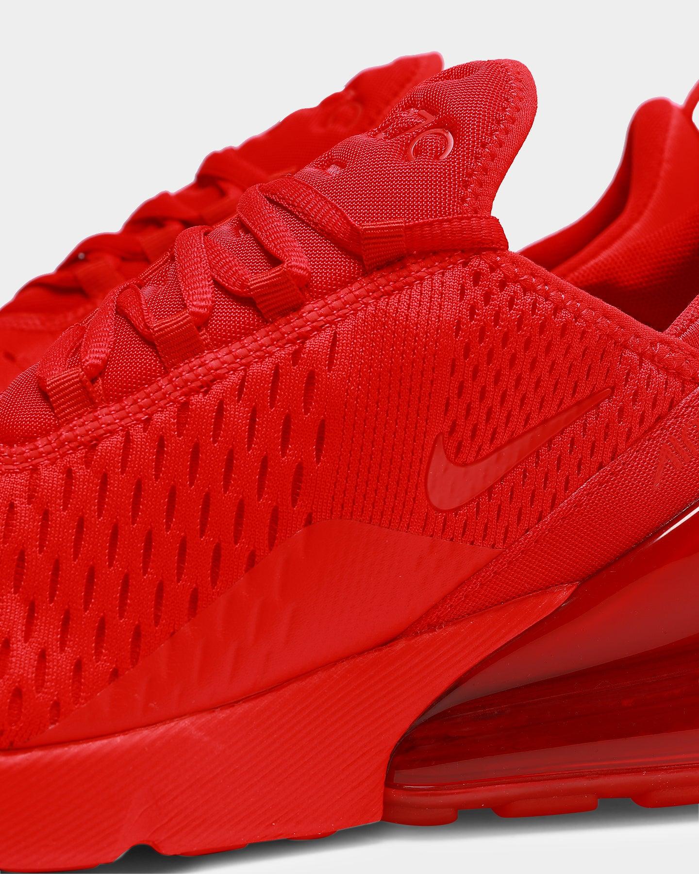 Nike Men's Air Max 270 Red/Red/Black
