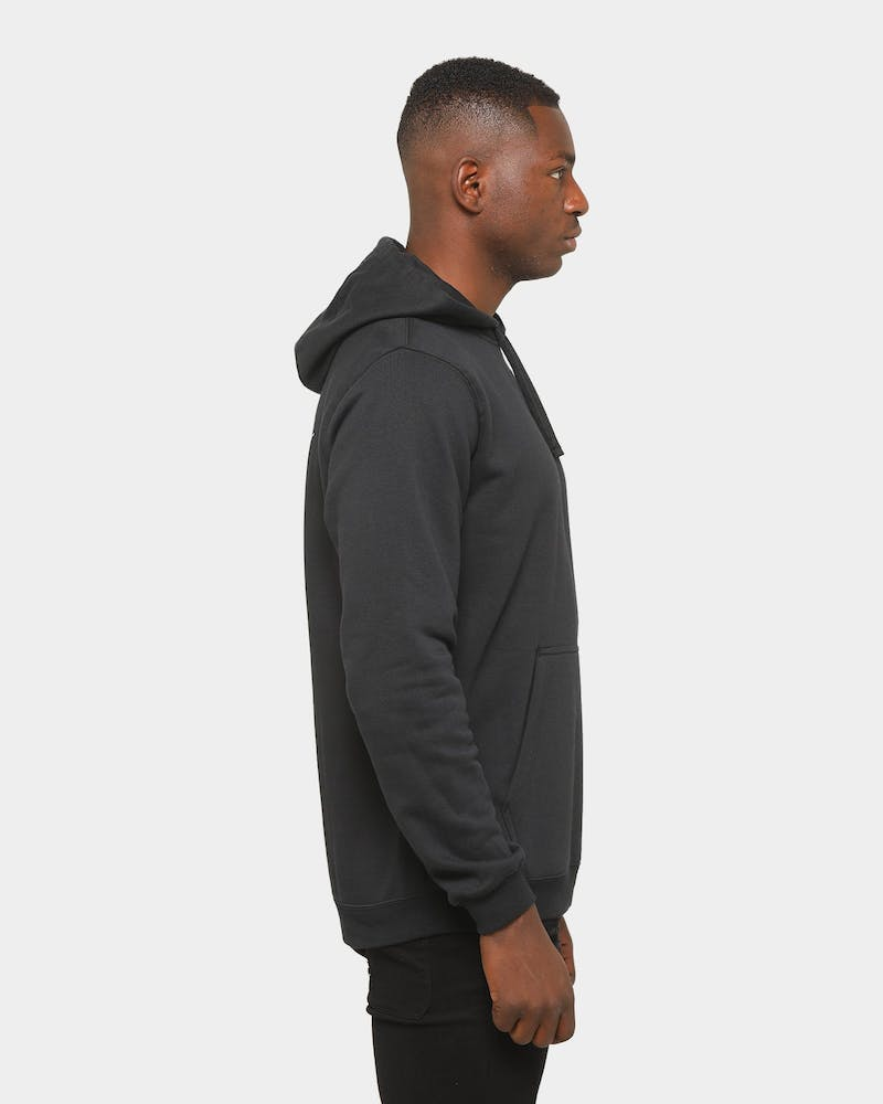 Nike Men's Brooklyn Nets Biggie Nike Club Fleece Pullover Hoodie Black