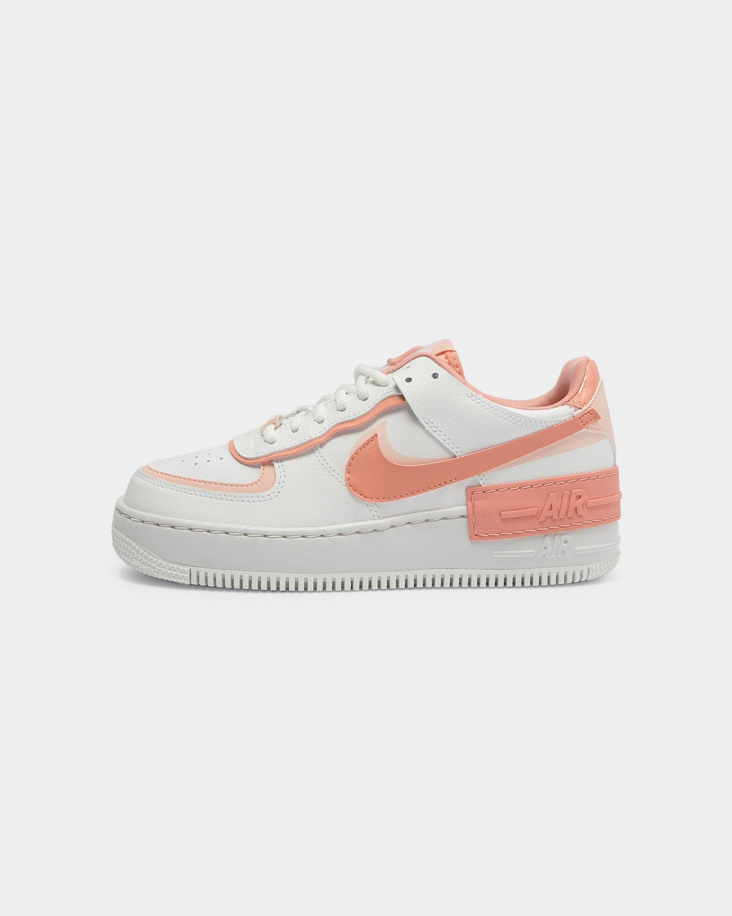 Nike Women S Air Force 1 Shadow White Pink Coral Culture Kings Nike air force 1 jester xx white pink. nike women s air force 1 shadow white pink coral