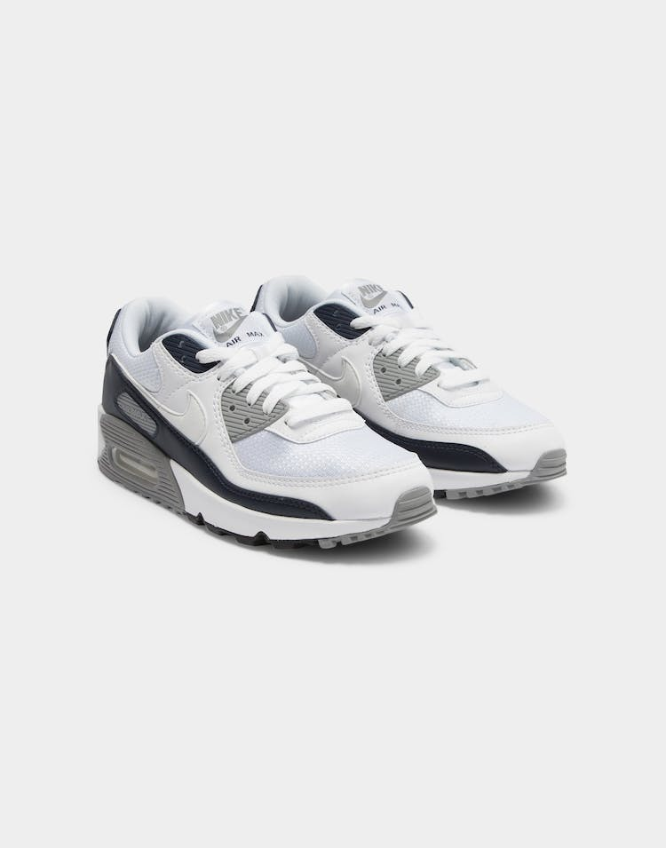 Nike Men's Air Max 90 White/White/Grey