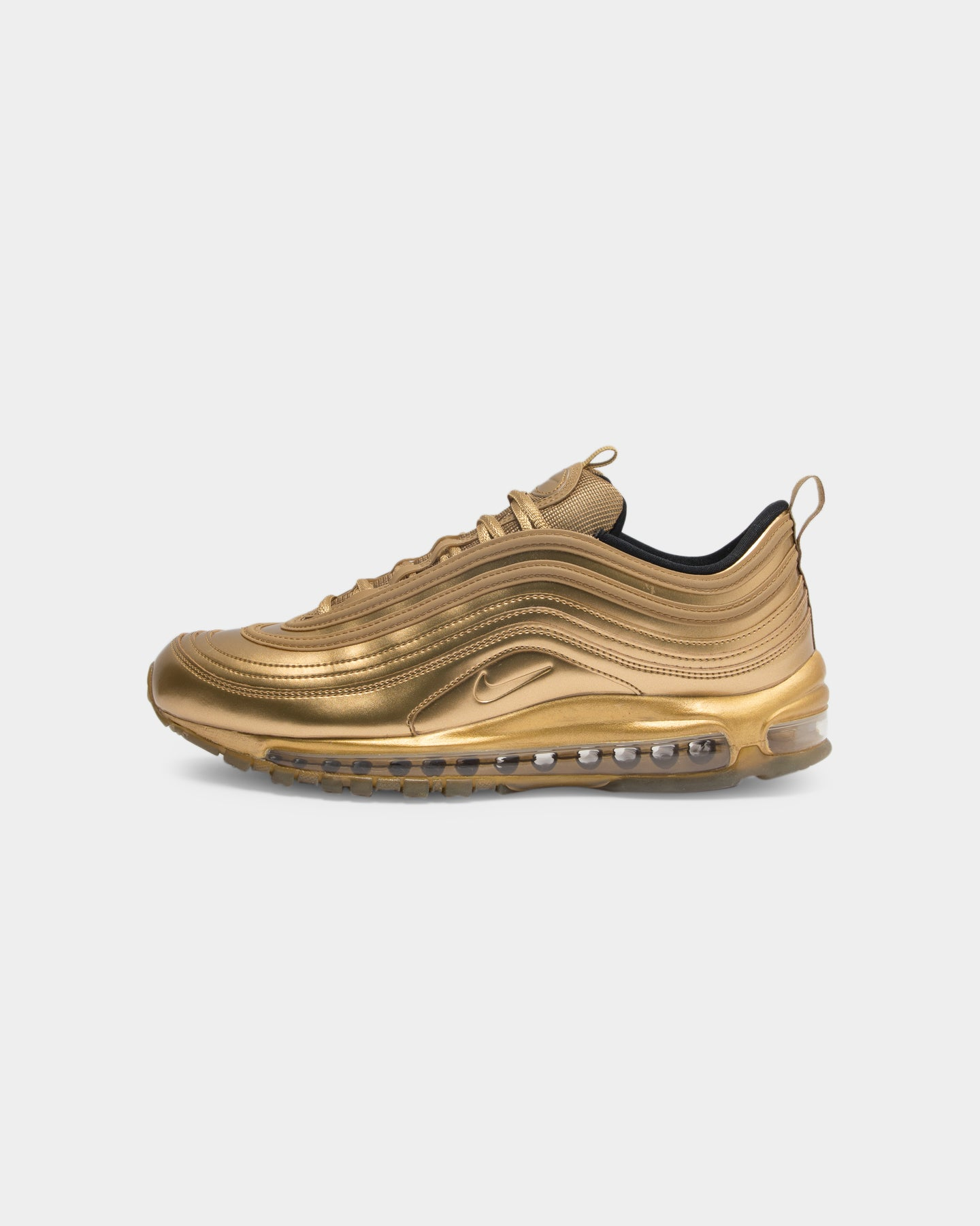 nike 97s black and gold