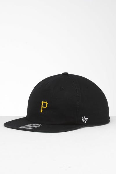 47 Brand Pittsburgh Pirates Marvin Jr. Captin RF Snapback Black