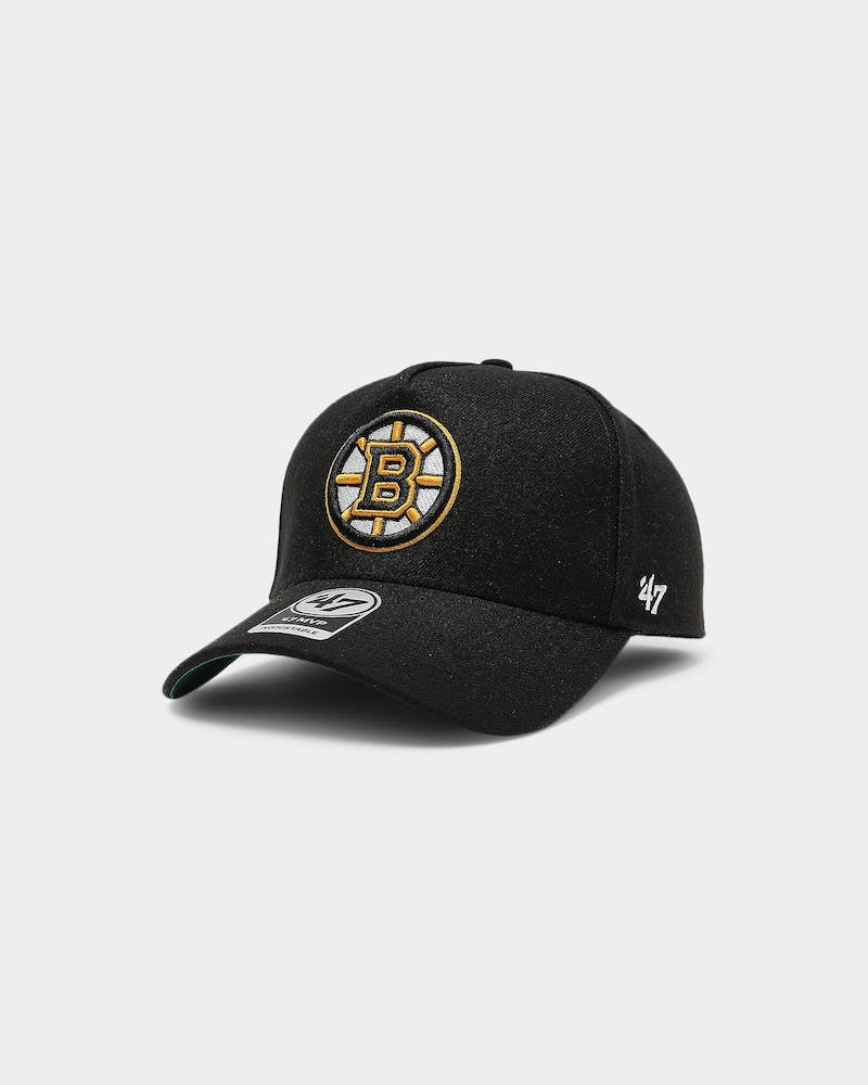47 Brand Boston Bruins MVP DT Snapback Black