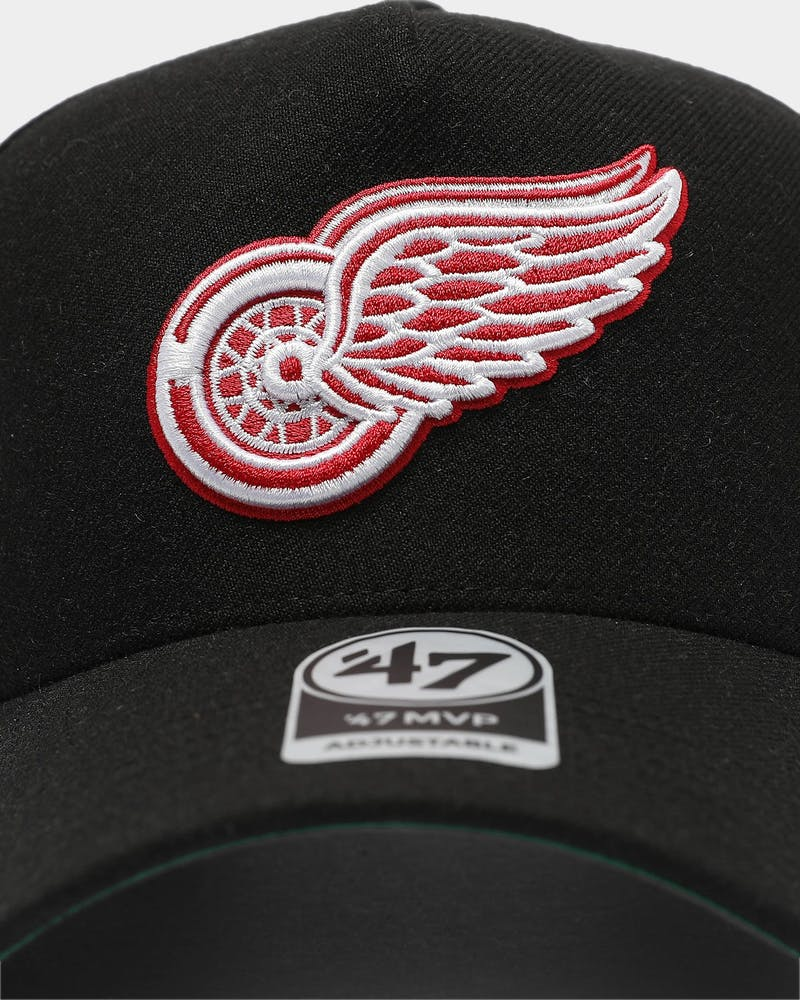 47 Brand Detroit Red Wings MVP DT Snapback Black