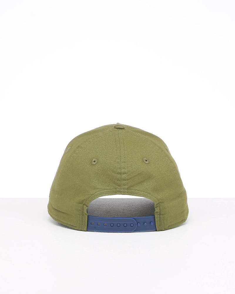 New Era New York Yankees 9FORTY A-Frame Seasonal Snapback Moss Green/Dark Royal