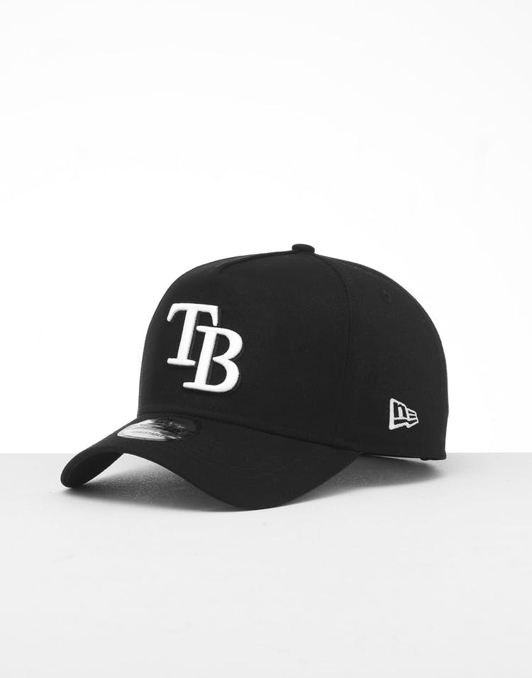 0c7d7b932 New Era Tampa Bay Rays 9FORTY K-Frame Snapback Black/White