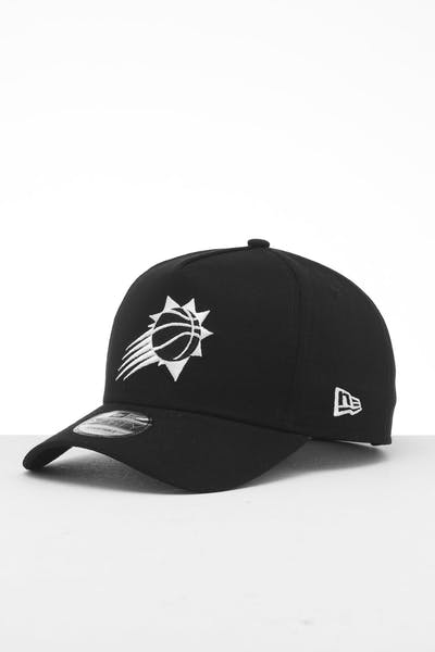 the latest 8e52b 93fcc New Era Phoenix Suns 9FORTY K-Frame Snapback Black White