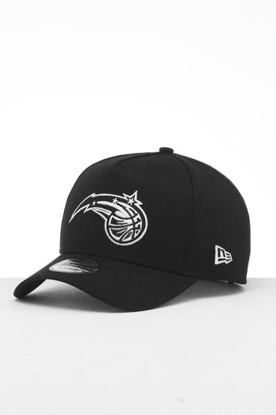 New Era Orlando Magic 9FORTY K-Frame Snapback Black/White
