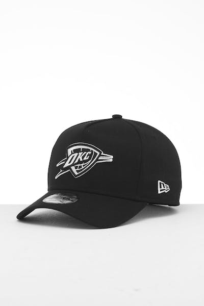 New Era Oklahoma City Thunder 9FORTY K-Frame Snapback Black/White