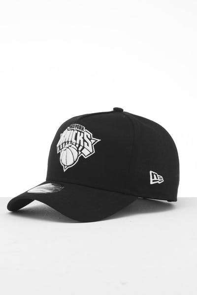 New Era New York Knicks 9FORTY K-Frame Snapback Black/White