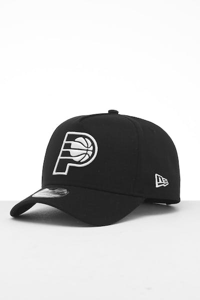 New Era Indiana Pacers 9FORTY K-Frame Snapback Black/White