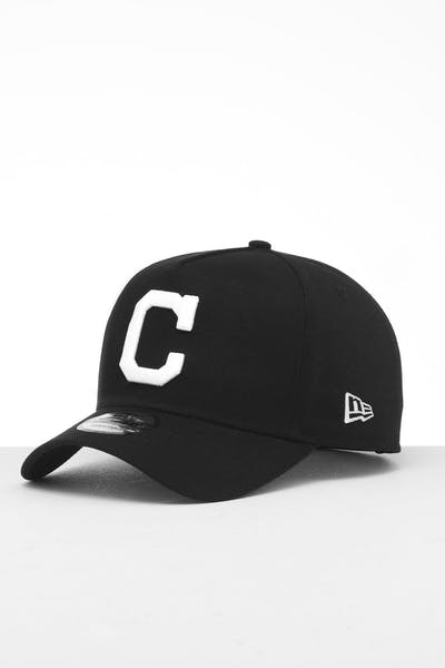New Era Cleveland Indians 9FORTY K-Frame Snapback Black/White
