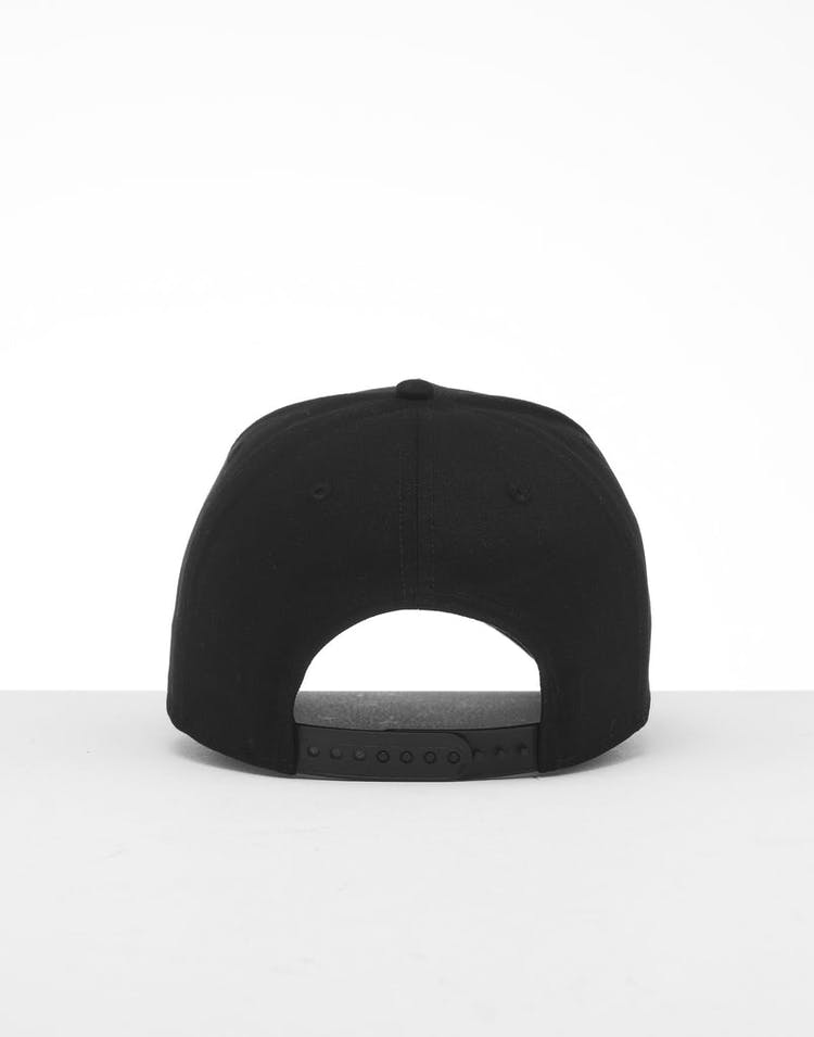 size 40 7014e 48042 New Era Brooklyn Nets 9FORTY K-Frame Snapback Black White