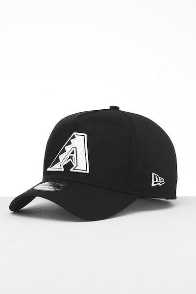 New Era Arizona Diamondbacks 9FORTY K-Frame Snapback Black/White