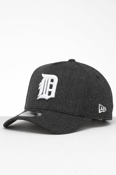 buy popular b3239 ba308 New Era Detroit Tigers 9FORTY K-Frame Snapback Black Heather Black ...