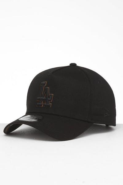 info for 79854 9e3f0 New Era Los Angeles Dodgers 9FORTY A-Frame Snapback Black Brush Camo ...