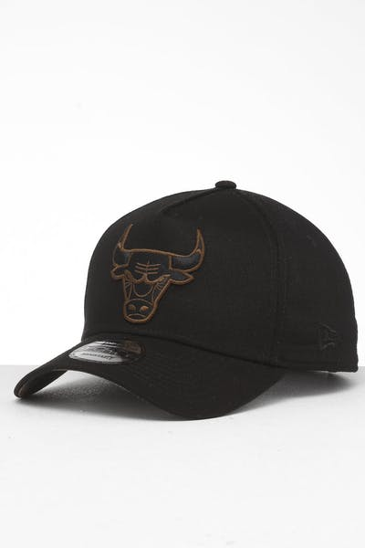 best sneakers 4221c 9a0ee New Era Chicago Bulls 9FORTY A-Frame Snapback Black Brush Camo ...