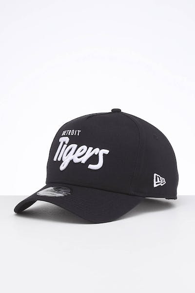 New Era Detroit Tigers 9FORTY K-Frame Team Script OTC/White Script
