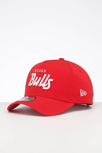 New Era Chicago Bulls 9FORTY K-Frame Team Script OTC/White Script