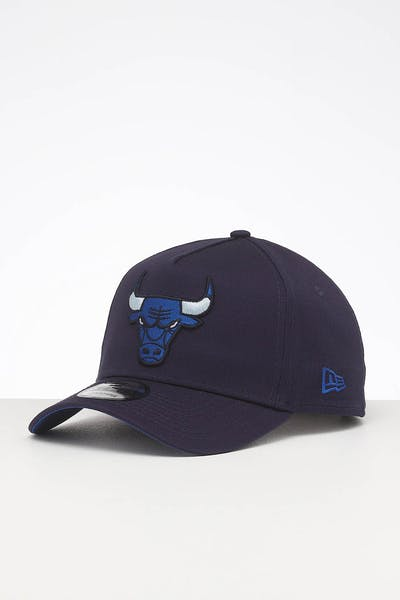 5aae6add New Era Chicago Bulls 9FORTY A-Frame Primary Navy/Royal Pop ...