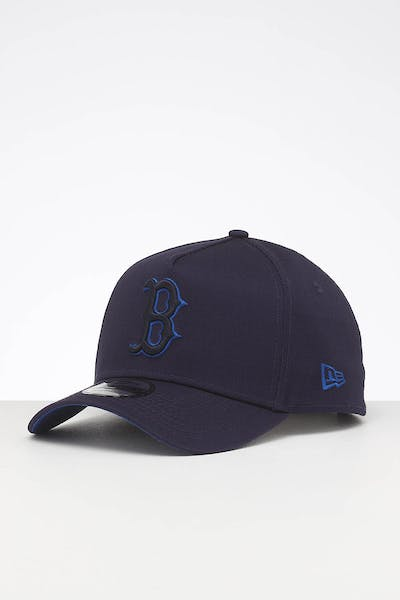 New Era Boston Red Sox 9FORTY A-Frame Primary Navy/Royal Pop