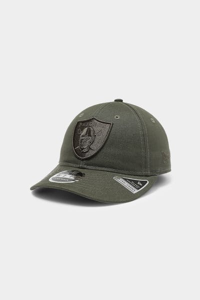 New Era Raiders 9FIFTY Heritage Snapback Olive