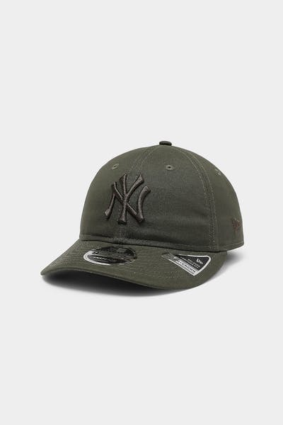 New Era New York Yankees 9FIFTY Heritage Snapback Olive