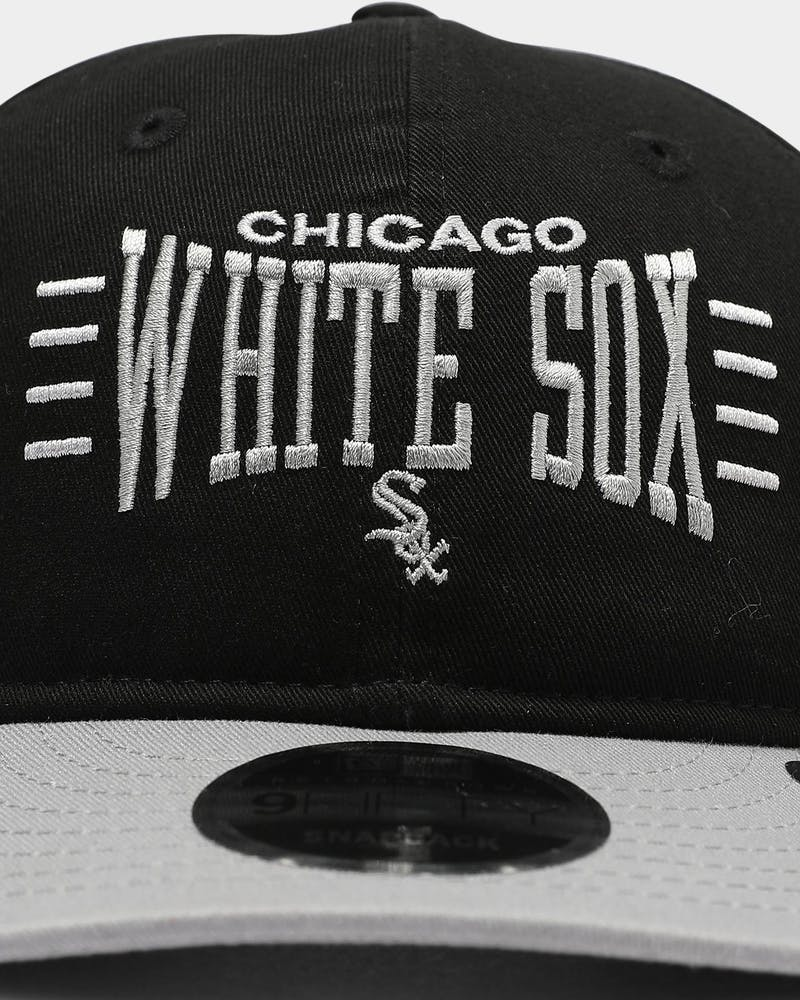 New Era Chicago White Sox 9FIFTY Retro Crown Snapback Black